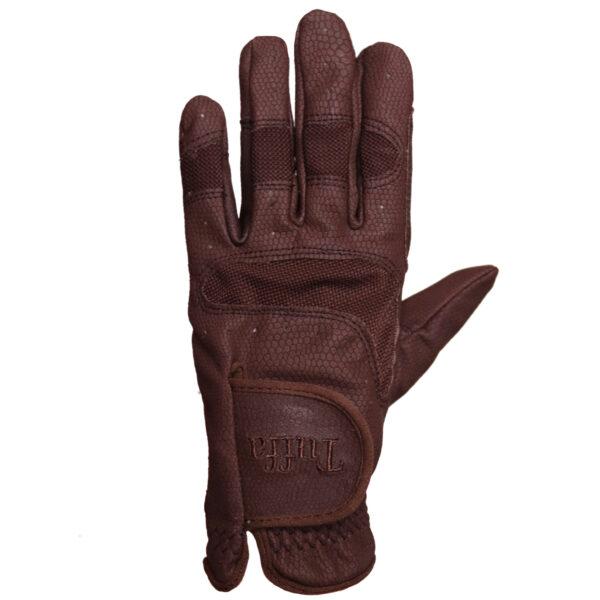 Brown Wroxham glove studio shot