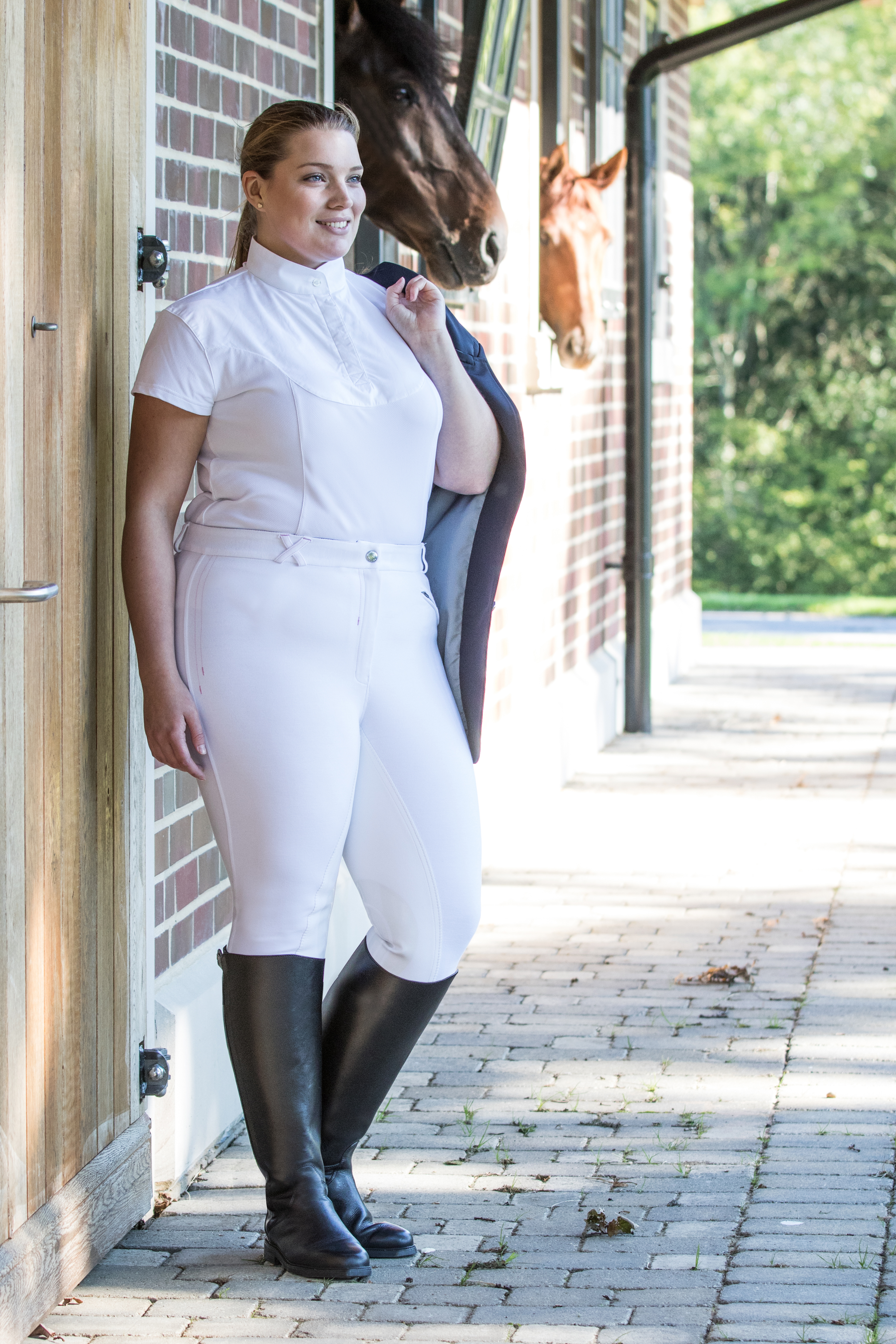 BRECKLAND PLUS-SIZE RIDING BOOTS