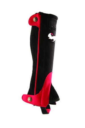 clearance-shetland-half-chaps-red-black-medium