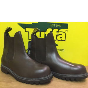 clearance-trojan-safety-boots-brown-42