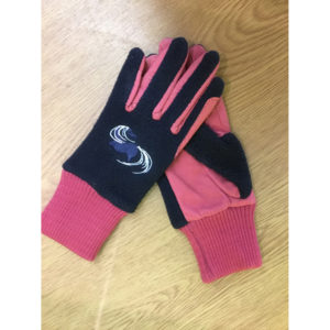 shetland-gloves-navy-raspberry